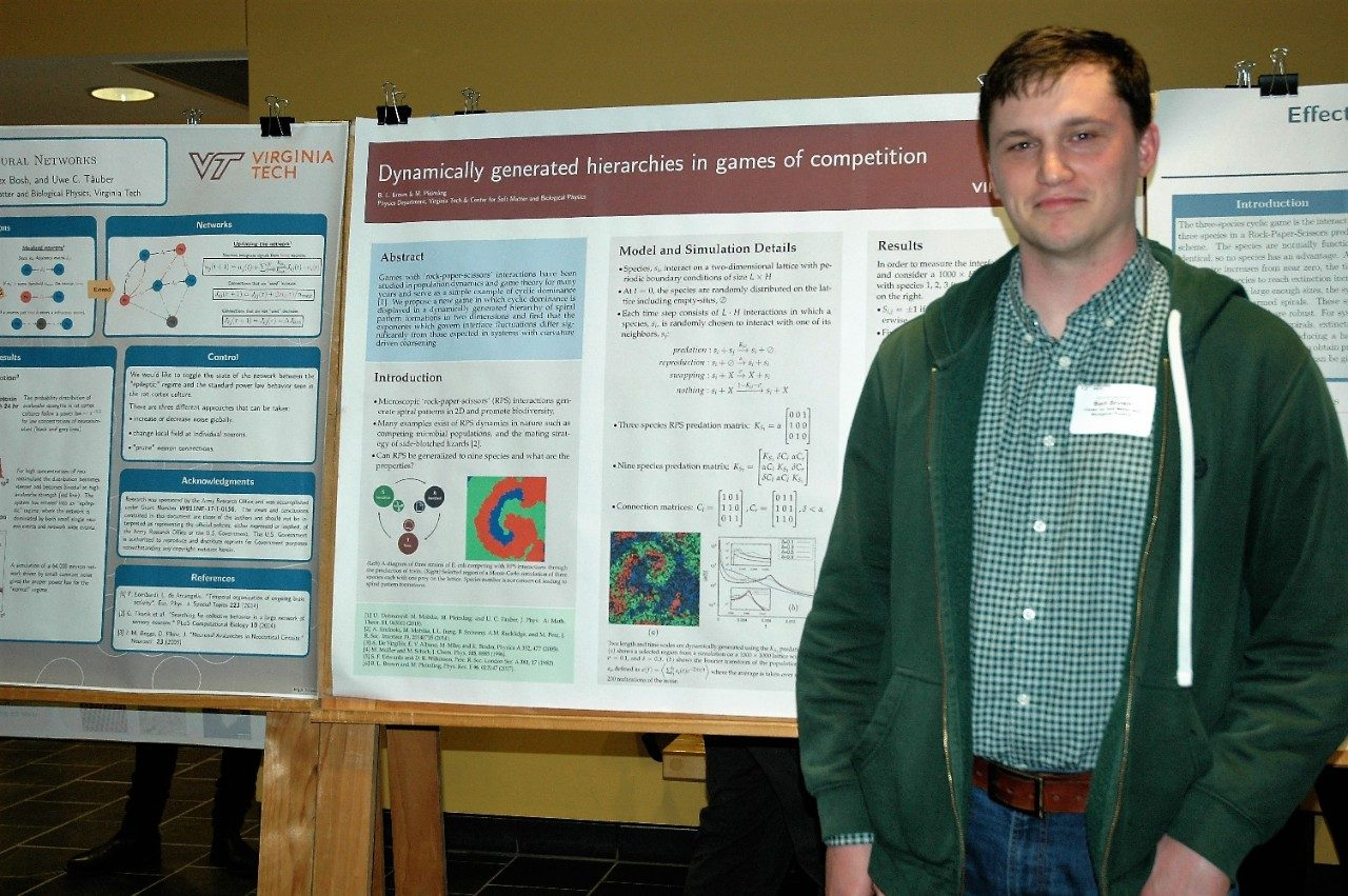 Bart Brown - Outstanding Poster Award winner