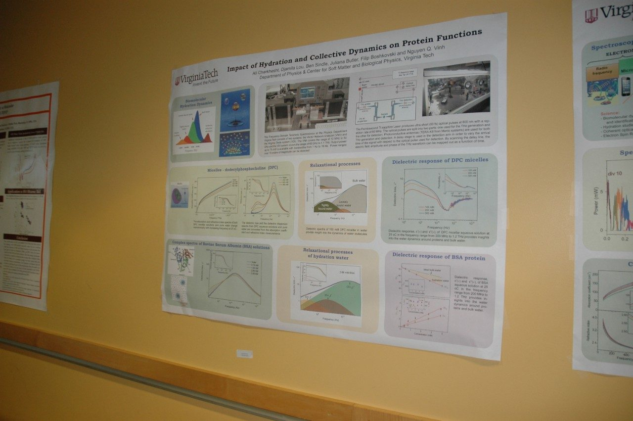 Ali Charkhuesht, Djamila Lou, Ben Sindle, Juliana Butler and Flip Boshkovski Research Poster